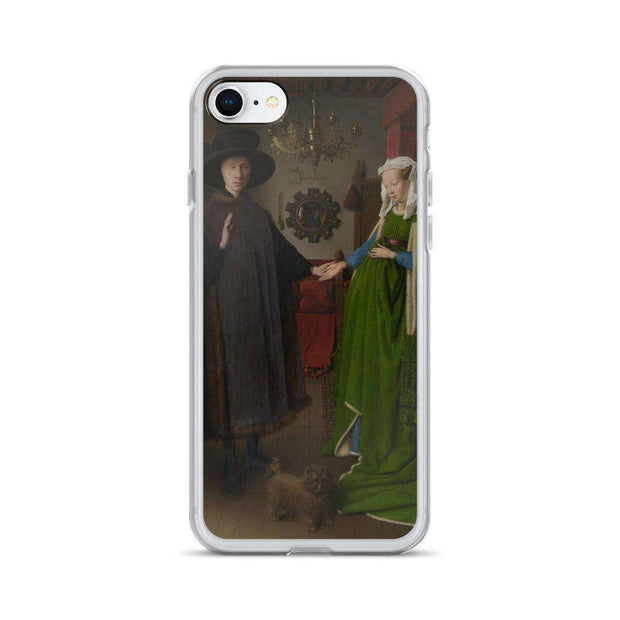 Van Eyck - Arnolfini Portrait iPhone Case - C'monStore #Phone Cases