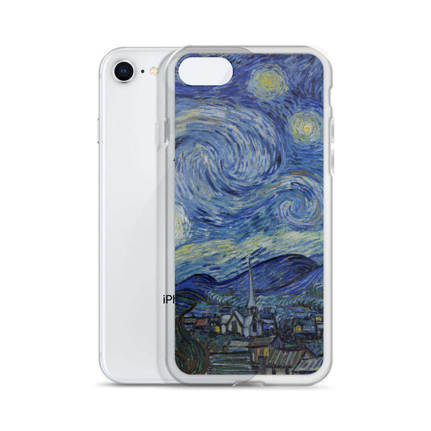 Van Gogh - Starry Night iPhone Case - C'monStore #Phone Cases