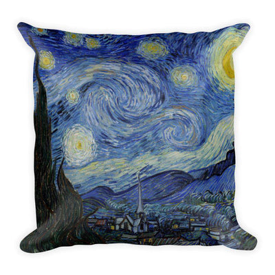 Van Gogh - Starry Night Pillow - C'monStore #Pillows