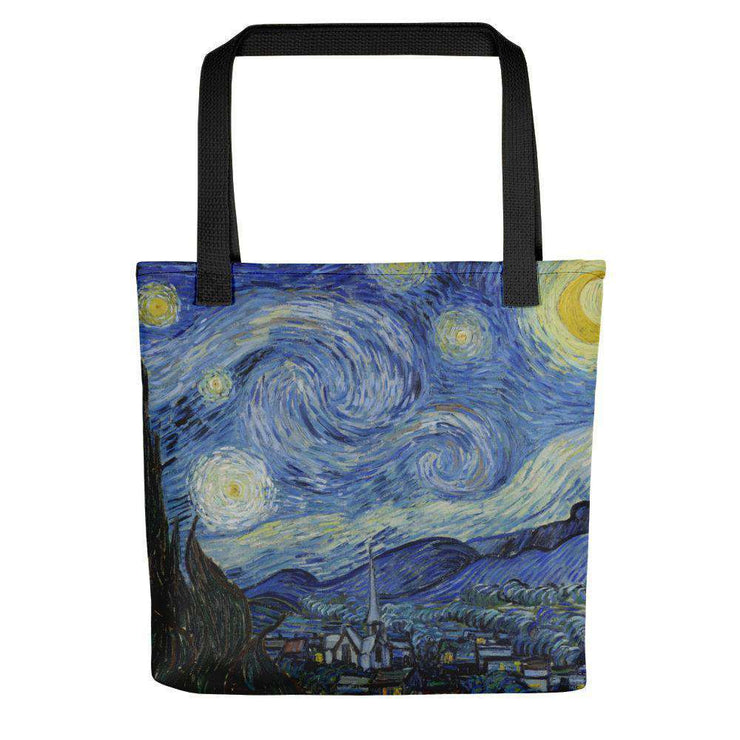Van Gogh - Starry Night Tote Bag - C'monStore #Tote Bags