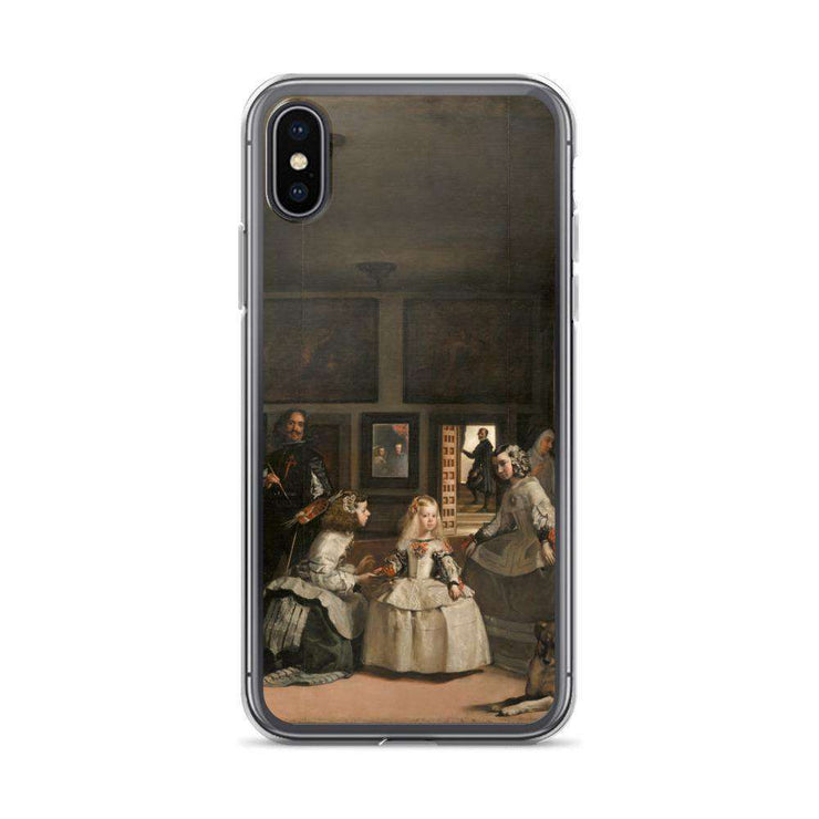 Velázquez - Las Meninas iPhone Case - C'monStore #Phone Cases