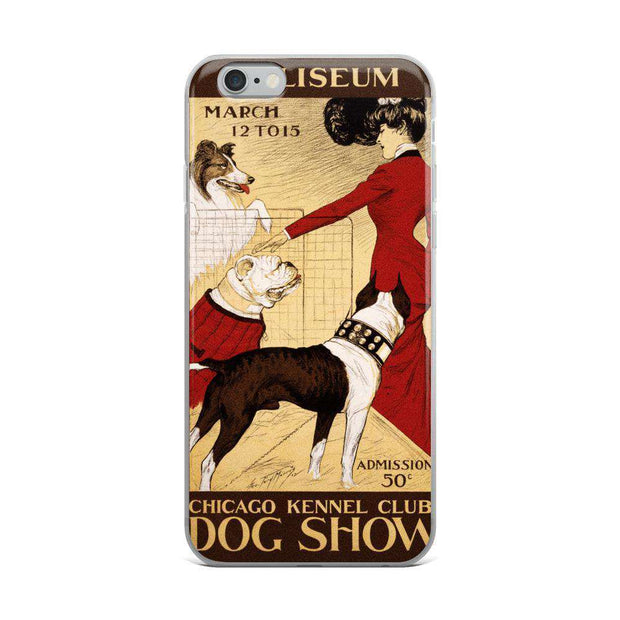 Vintage Chicago Kennel Club iPhone Case - C'monStore #Phone Cases