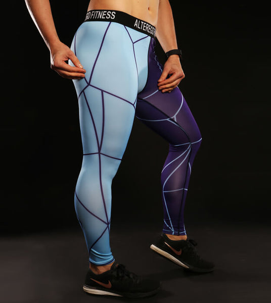 Cyber Soldier Leggings Periwinkle