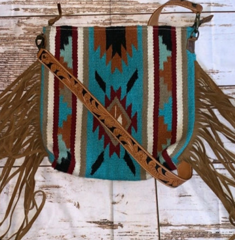 Saddle Blanket Cross Body