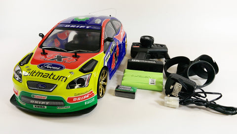 1 10 Flying Fish Ford Focus Rs St Electric Rc Radio Remote Control