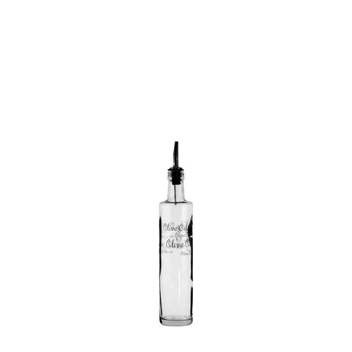 CONSOL CLEAR 'OIL & VINEGAR' BOTTLE WITH POURER (500ML)x10 - DECO-Vie