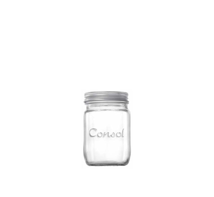 CONSOL JAR PRESERVE (250ML), PACK OF 12 - DECO-Vie