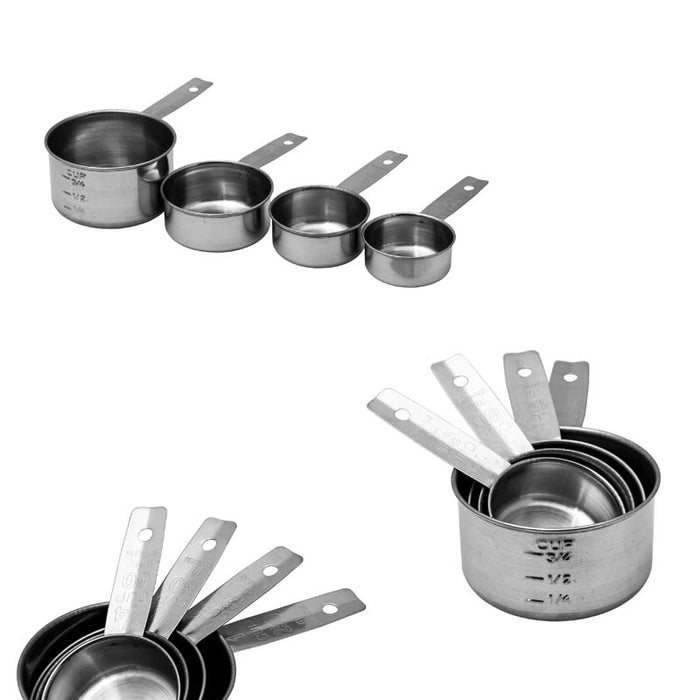 REGENT BAKEWARE MEASURING CUP S/S 4PC SET - DECO-Vie