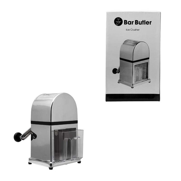 BAR BUTLER HEAVY DUTY ICE CRUSHER WITH CHROME BODY (165X155X270MM) - DECO-Vie