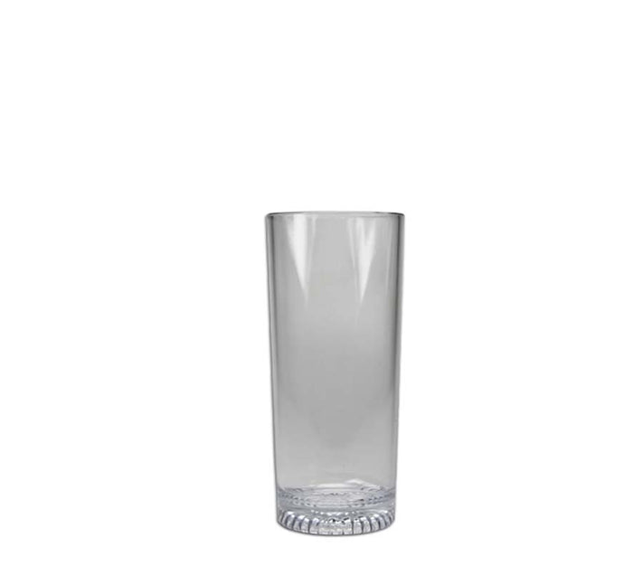 CLEAR PLASTIC HIBALL TUMBLERS, 6 PACK (240ML)x10 - DECO-Vie