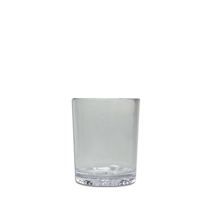 CLEAR PLASTIC WHISKY TUMBLERS, 6 PACK (250ML)x10 - DECO-Vie