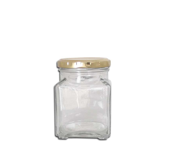 CONSOL CATERING SQUARE JAR (260ML), PACK OF 24 - DECO-Vie