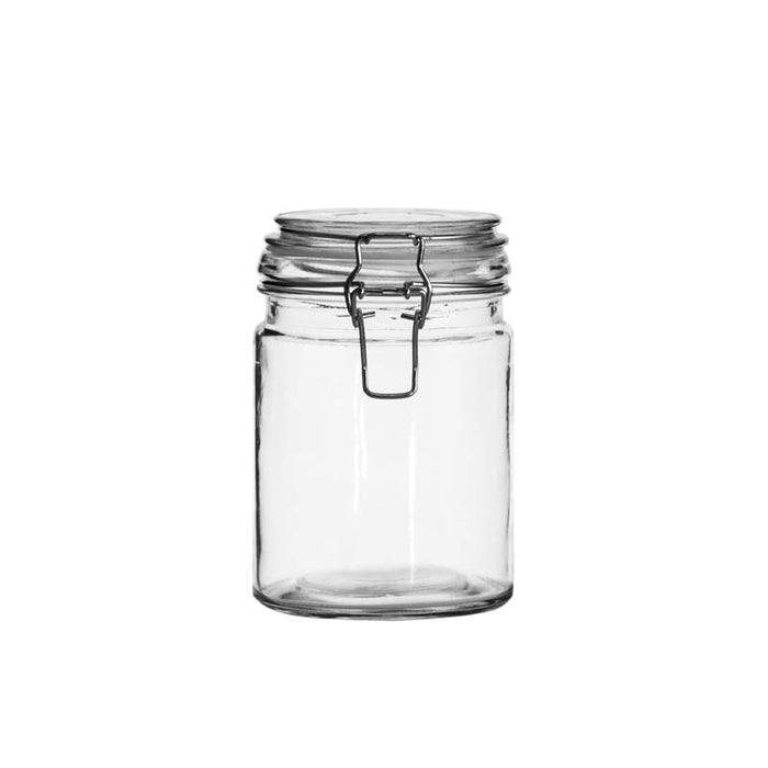 HERMETIC CANISTER WITH CLIP & SEAL x 12 units (680ML) - DECO-Vie