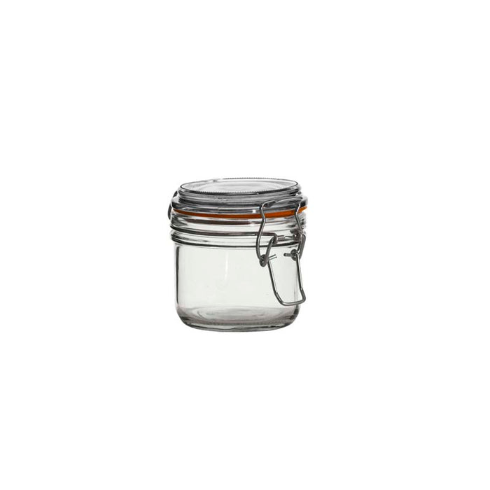 HERMETIC CANISTER WITH CLIP & SEAL (200ML) x24 - DECO-Vie