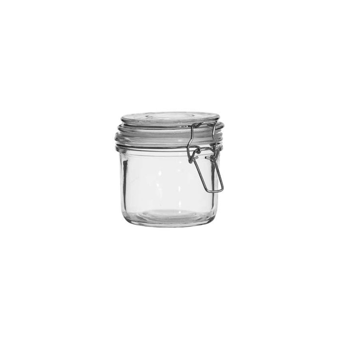 HERMETIC CANISTER WITH CLIP & SEAL (350ML) X 24 - DECO-Vie