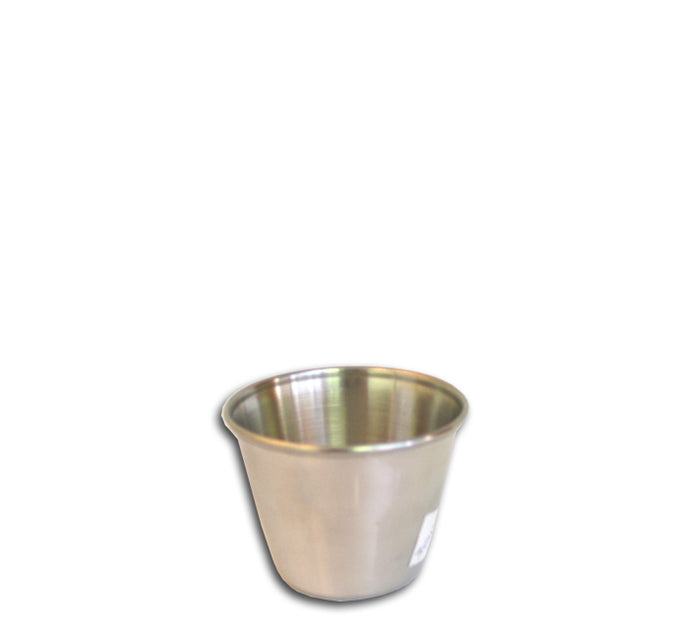 SAUCE DISH S/STEEL (50ML) (55MM:DX40MM) - DECO-Vie