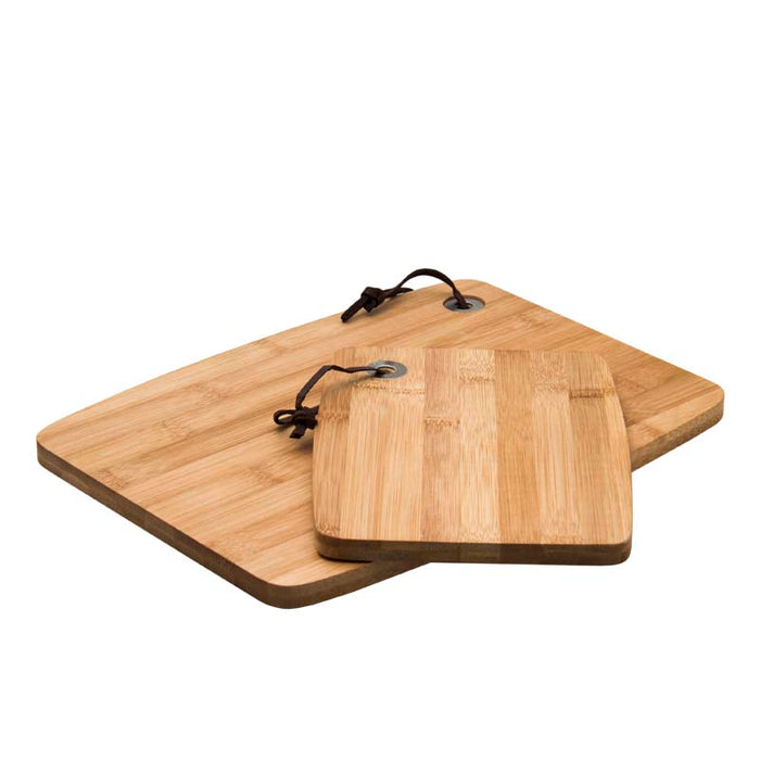 REGENT BAMBOO CUTTING BOARD, 2 PIECE SET (205X155X12MM | 305X225X12MM) - DECO-Vie