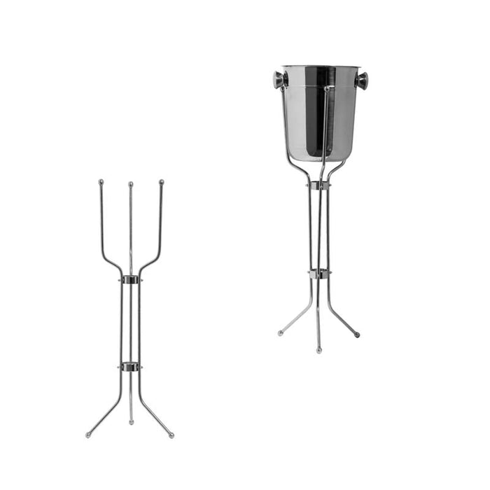 BAR BUTLER ICE BUCKET STAND S/STEEL (730MM:H) FITS ITEM: 30537 - DECO-Vie