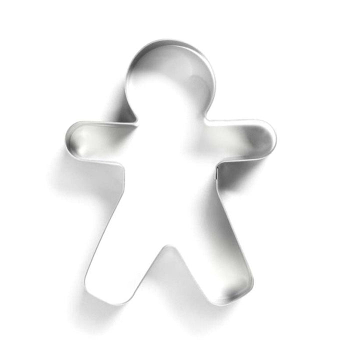 REGENT BAKEWARE COOKIE CUTTER GINGERBREAD MAN S/STEEL (80X80MM)x10 - DECO-Vie
