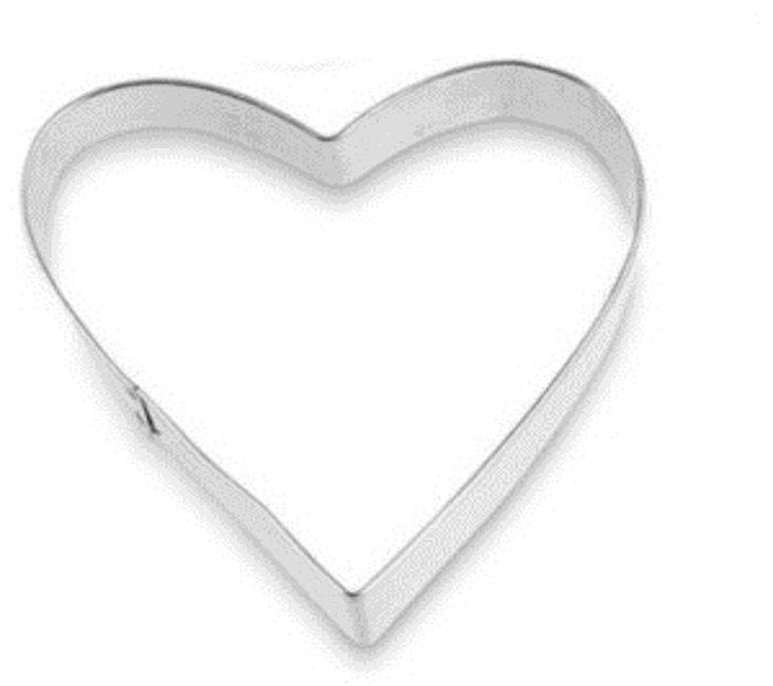 REGENT BAKEWARE COOKIE CUTTER HEART (70X68MM) - DECO-Vie