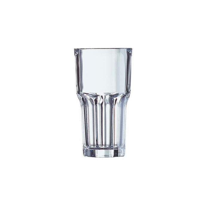 LUMINARC GRANITY TEMPERED GLASS HIGH BALL TUMBLER, 6 PACK (350ML) - DECO-Vie