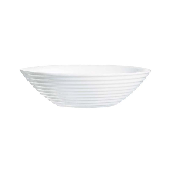 LUMINARC STAIRO WHITE TEMPERED GLASS MULTI-PURPOSE BOWL (160MM:DIA)x12 - DECO-Vie