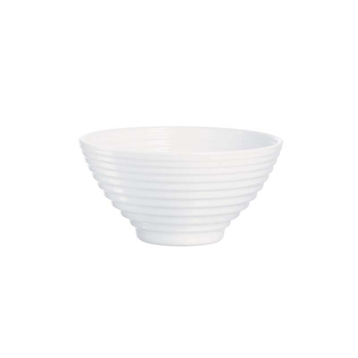 LUMINARC STAIRO WHITE TEMPERED GLASS RICE BOWL (120MM:DIA)x10 - DECO-Vie