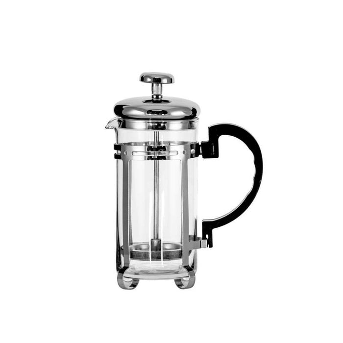 REGENT COFFEE PLUNGER WITH CHROME FRAME, 3 CUP (300ML) - DECO-Vie