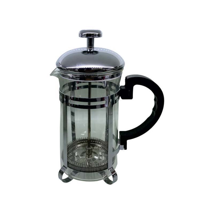 REGENT COFFEE PLUNGER WITH CHROME FRAME, 6 CUP (600ML) - DECO-Vie