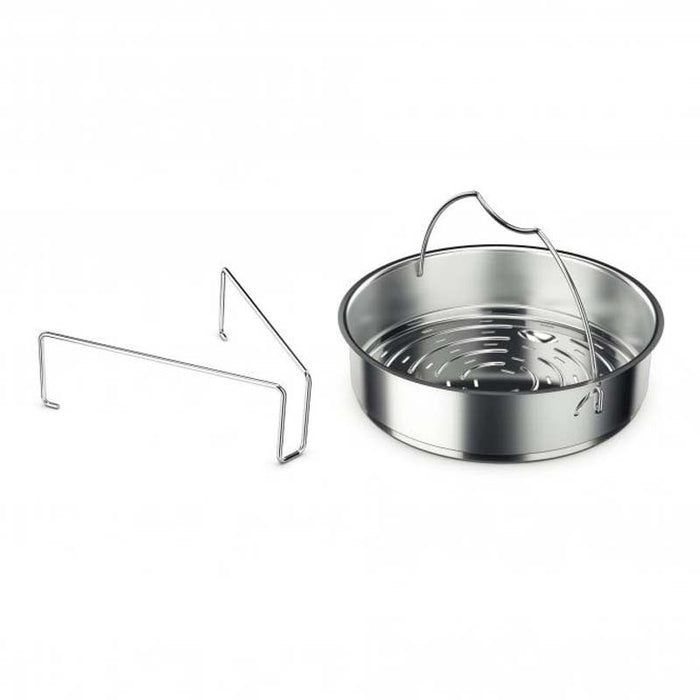 FISSLER PRESSURE COOKER PERFORATED INSERT & TRIPOT (220MM:DIA) - DECO-Vie