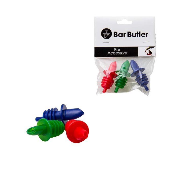 BAR BUTLER ECONO PLASTIC POURER, 3 PER PACK, 10 PACKS - DECO-Vie