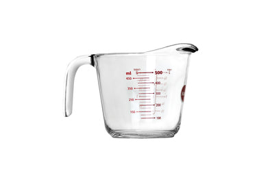 MARINEX TEMPERED GLASS MEASURING JUG (500ML) (172X121X122MM) - DECO-Vie