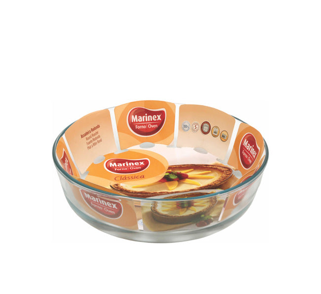 MARINEX ROUND BAKING DISH (2.4L) (263MM:DX58MM:H) - DECO-Vie