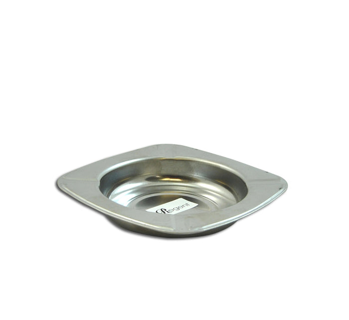 SQUARE S/STEEL ASHTRAY (120X120X22MM) PACK OF 10 - DECO-Vie