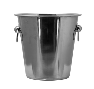 BAR BUTLER ICE BUCKET WITH RING HANDLES S/STEEL 4L (215MM:DX215MM:H) - DECO-Vie