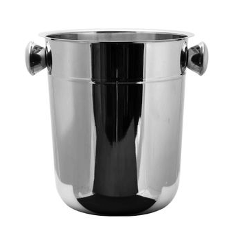 BAR BUTLER CHAMPAGNE ICE BUCKET WITH KNOB HANDLES S/STEEL 8L - DECO-Vie