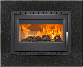 Image of Elevated Shannon Stove set in Granite Frame