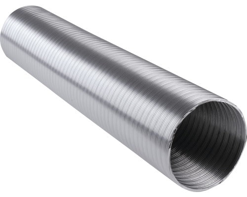 Image of 100 mm stainless steel hot air ducting for stoves