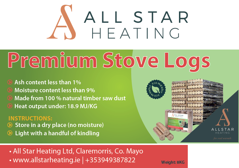Image of All Star Heating Stove Logs Product Information