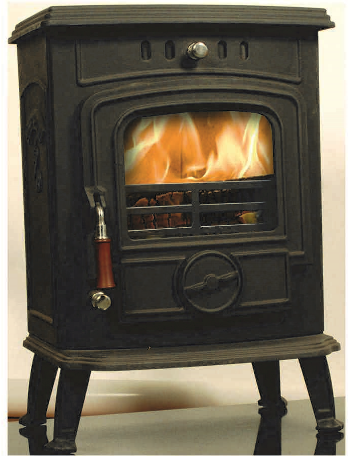 Image of Robin 5 kW Free Standing Stove in matt black