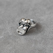 Rolling Stones Tongue Ring Gothic Punk Rock Bike Ring