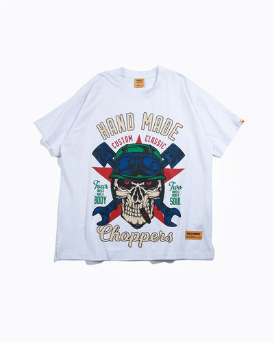 Hand Made Choppers Graphic Tee Shirt
