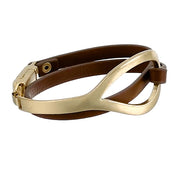 Double Wrap Genuine Leather Bracelet [2 Colors]