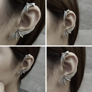Dragon Wing Ear Cuff Ear Wrap Piercing Stud Earring
