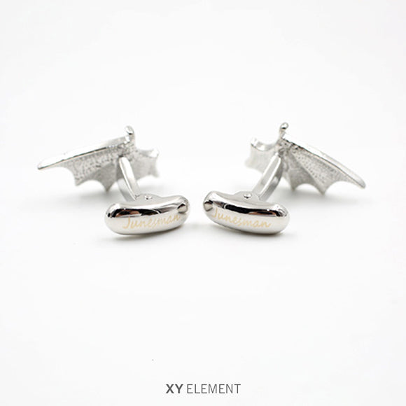 Fallen Angel Wings Cufflinks [2 Variations]