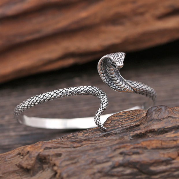 Cobra Snake Bangle Bracelet Viper Serpent Animal Bangle