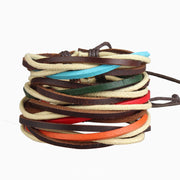 Styling Leather Color Bracelet