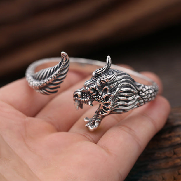 Dragon Bangle Bracelet