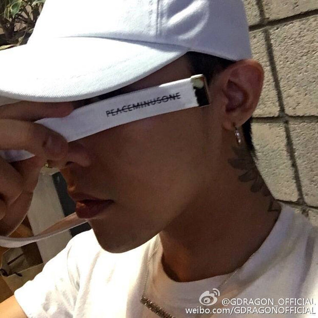 BIGBANG G-DRAGON Style Long Strap Tail Clip K-pop Hiphop Baseball Cap