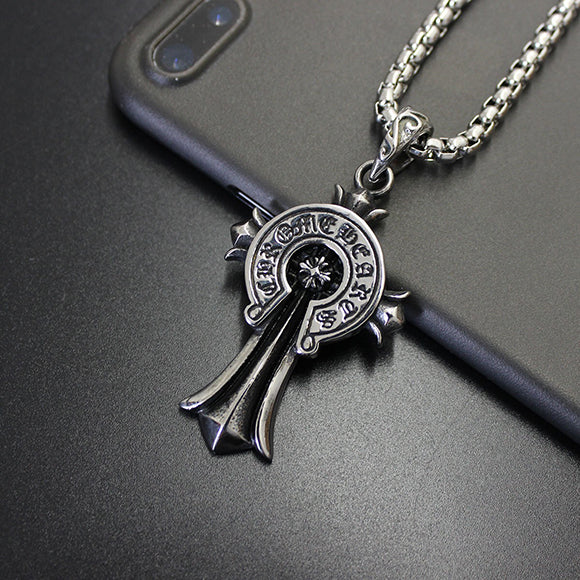 Chrome hearts style floral cross pendant necklace 529 aag selects right carousel arrow aloadofball Gallery